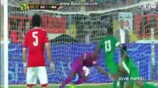 اهداف مباراة مصر ونيجيريا 1-0  تصفيات كأس امم افريقيا 2016