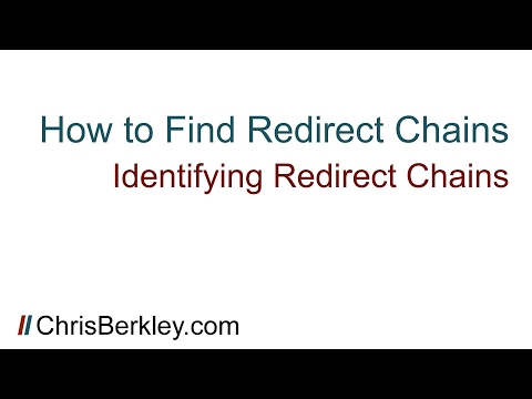 How To Find Redirect Chains and Increase Link Equity for SEO