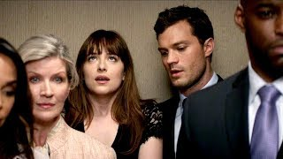 'Fifty Shades Darker' Sneak Peek: Christian and Ana Heat Things Up in an Elevator