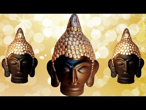 Xxx Mp4 How To Make Clay Mural Buddha With Plastic Bottle Craft From Waste Shilpkar Craft 3gp Sex