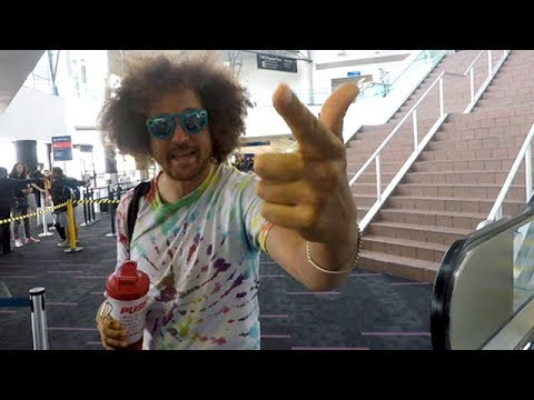 Xxx Mp4 Redfoo Dancing As He Hears His Music Playing At Virgin Air 3gp Sex