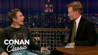 """Dax Shepard's Confusing Encounter With Mike Tyson -  """"Late Night With Conan O'Brien"""" 11/13/06"""