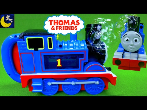 Thomas and Friends Bubble Blowing Thomas the Train #1 Tank Engine Super Miracle Bubbles Toys 2008!