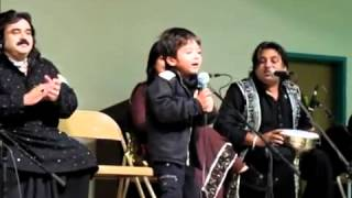 Arif Lohar Son & ALAM LOHAR Grandson  First performance - Live.flv