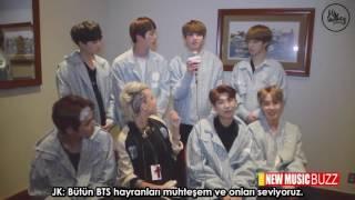 [Türkçe Altyazıl] BTS - The New Music Buzz Röportajı
