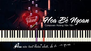 Hoa Bé Ngoan - Piano Cho Thiếu Nhi & Sheets + Lyrics