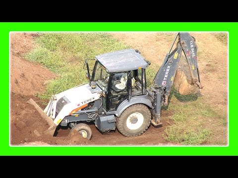 Excavator Truck For Children JCB Truck at Work Dumper Truck by JeannetChannel