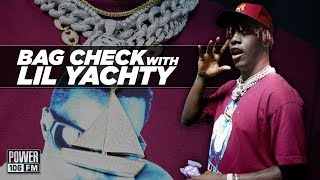Lil Yachty's Treasure Chest Of Rolexes | Bag Check On The Cruz Show