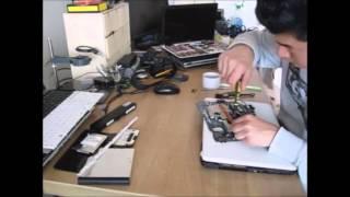 disassemble Toshiba satellite C660