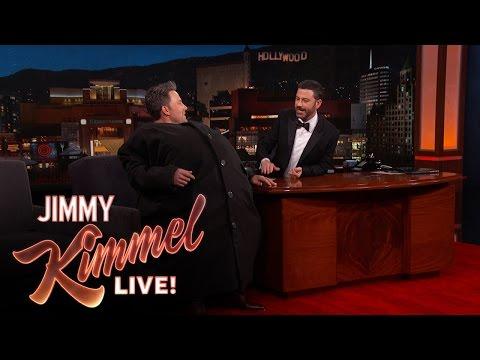 "Ben Affleck Sneaks Matt Damon Onto ""Jimmy Kimmel Live"