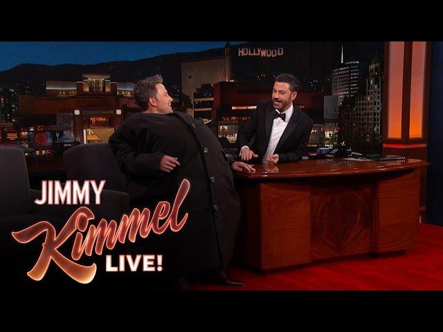 "Ben Affleck Sneaks Matt Damon Onto ""Jimmy Kimmel Live!"""
