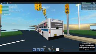 MTA Bus: Kew Gardens bound 1999 New Flyer D60HF Q10 [#5510] @ JFK Access Road