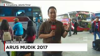 Terminal Pulogebang Mulai Dipadati Pemudik - Live Report (16.00 WIB - 20/06/2017)