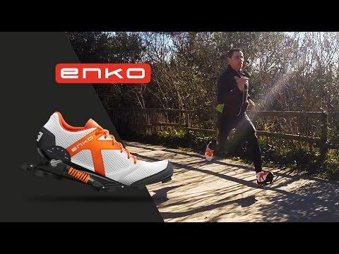 Enko Running Shoe - The run - http://www.enko-running-shoes.com/