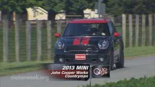Quick Spin: 2013 Mini JCW Countryman.
