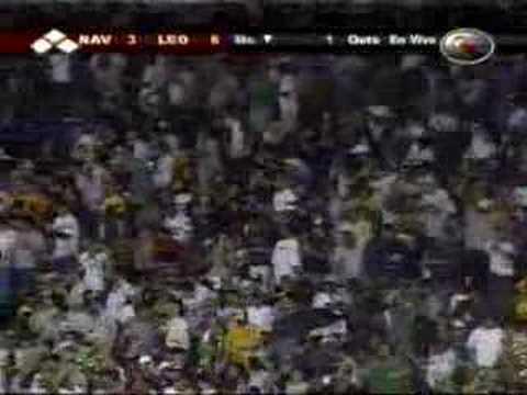 Caracas VS Magallanes 10 a 6 10 11 2007 VIDEO ELTALIBAN