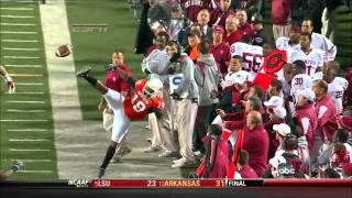 Crazy Scary And Downright Amazing NFL And NCAA Plays