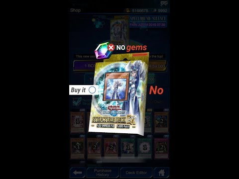 Yugioh Duel Links - Spellbound Silence Structure Deck
