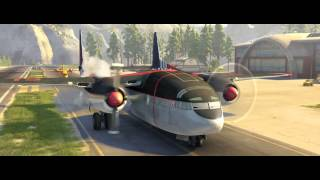 Planes 2 Fire & Rescue Clip - Drop The Needle - Official Disney | HD