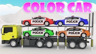 Car For Kids Small CARS Transportation and Police cars Kids Nursery Rhymes Songs