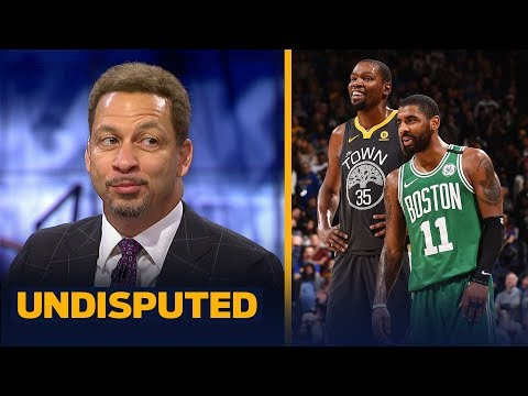 Chris Broussard talks NBA free agency for KD Kyrie and Anthony Davis NBA UNDISPUTED