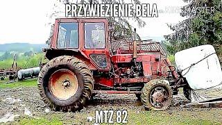 Przywiezienie bela/MTZ 82    (цюк транспарт)