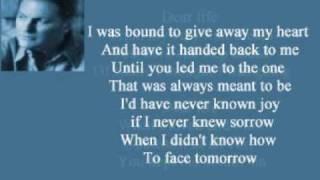 Collin Raye - Dear Life ( + lyrics 2001)