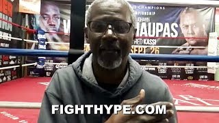WILDER TRAINER BRELAND EXPLAINS WHY TYSON FURY NOT GETTING PAST 8 ROUNDS; PREDICTS HIS GAME PLAN