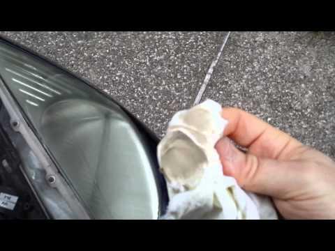 Lucidatura dei fanali auto