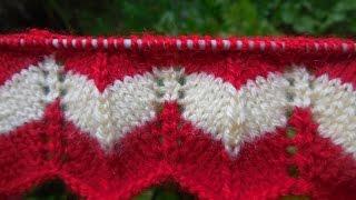 Zig-Zag Knitting Pattern # 45