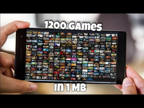 [1MB] Download 1200 games for Android
