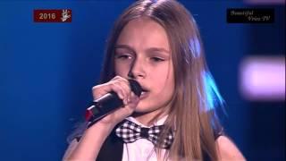 Eva.'Je T'aime'(Lara Fabian).The Voice Kids Russia 2016.