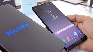 Samsung Galaxy Note 8 Unboxing & Overview (Indian Unit)