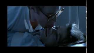 Linda Hamilton - getting licked