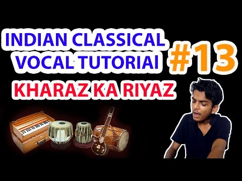 Kharaz  riyaz | Singing Low Notes| increasing bass | Indian Classical Vocal Tutorial By Nihal Mishra