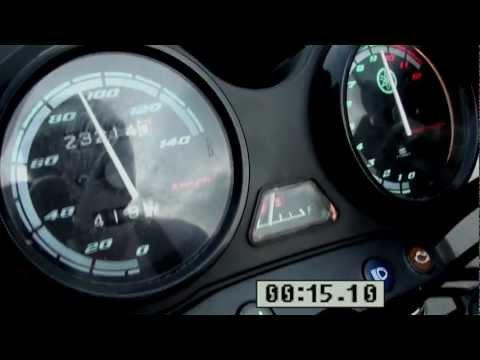 Yamaha YBR 125 0 100 km h