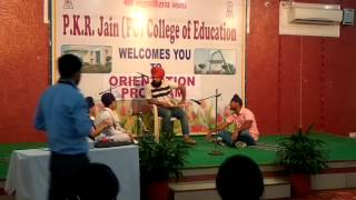 Punjabi comedy skit between teacher and students