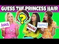 Guess the Disney Princess by the Hair. Can you Guess the Disney Character? Totally TV.