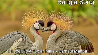 Tui Jodi hoyti Golar Mala by Samsul Manna - Bangla Song