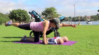 Mums and Bubs Exercise Ideas - Pram Fitness