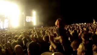 Rammstein Download Festival England 2013