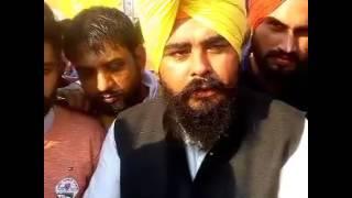 Amarjit sandoa aap candidat halka Rupnagar