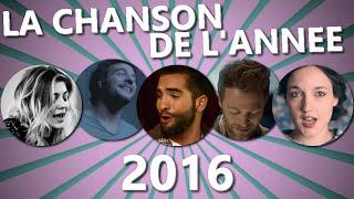 La Chanson de l'année 2016 : Les 10 nommés