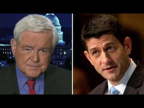 Newt Gingrich Paul Ryan is at a turning point