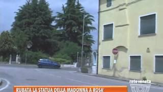 05/05/2014-ROSA': RUBATA LA STATUA DELLA MADONNA IN VIA GARIBALDI