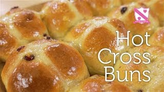 Hot Cross Buns - In The Kitchen With Kate