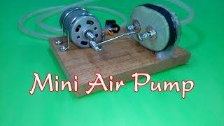 DIY - How to Make a Mini Air Pump v2 | Mini aquarium air pump