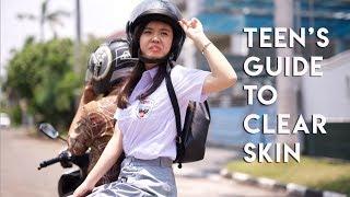 Skincare Routine For Teens ♥ Cara Mencuci Wajah Untuk REMAJA (Bahasa Indonesia)