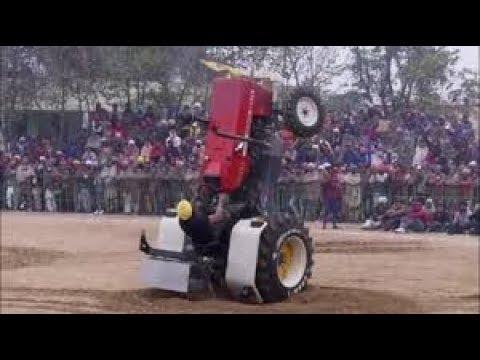 Swaraj 855 Happy Mahla New Stunt