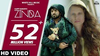 ZINDA : Happy Raikoti | Goldboy | Sukh Sanghera | New Punjabi Song 2019 | White Hill Music